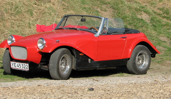 MG KIT CARS ARKLEY SS · Basis MG Midget- Austin Healey